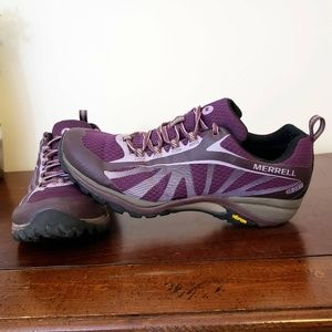 Merrell Siren Edge Waterproof Hiking Shoes W 10